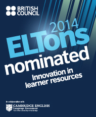 ELTons nomination for Innovation in Learner Resources